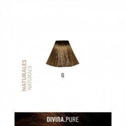 DIVINA PURE NATURALES  Nº6 Rubio Oscuro